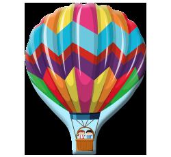 Ballon form mousepad